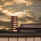 法勝寺の九重塔