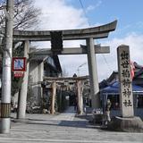 以前の出世稲荷神社の写真
