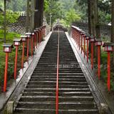 綾部 若宮神社の石段