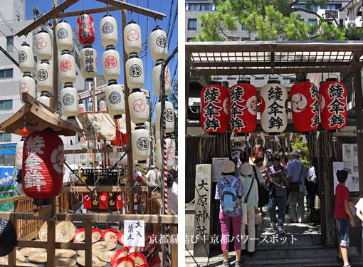 大原神社と綾傘鉾