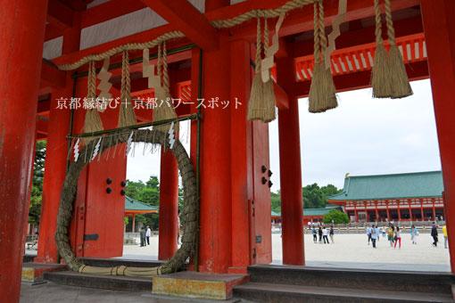 平安神宮の茅の輪