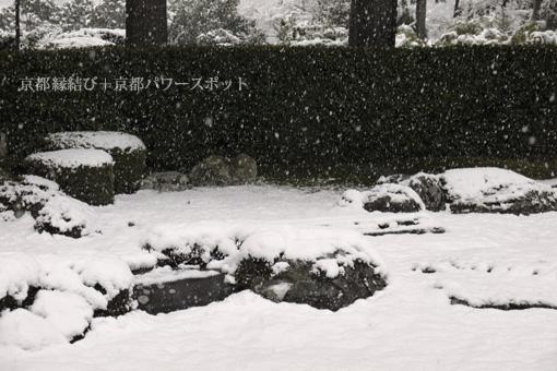 圓通寺の雪景色