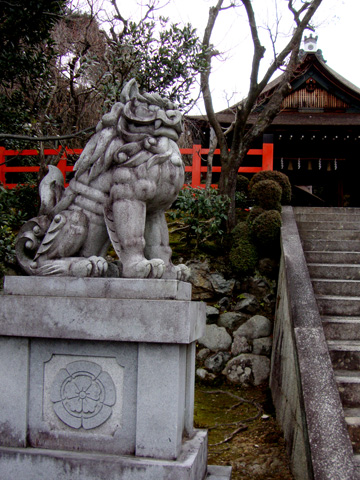 建勲神社狛犬