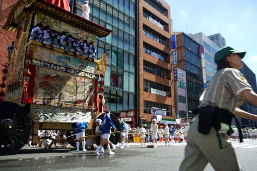 京都祇園祭 山鉾巡行