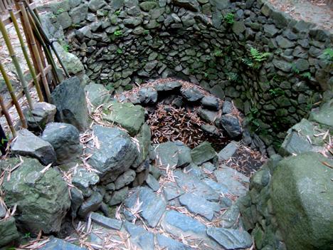 随心院の小町化粧の井戸