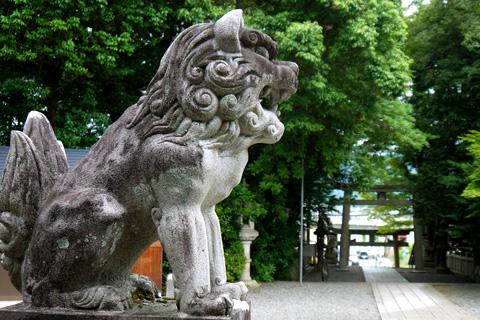 一宮神社の狛犬