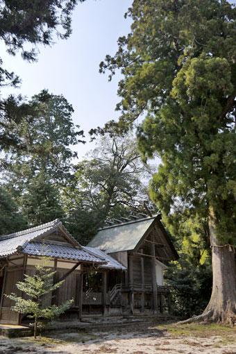 板列八幡神社
