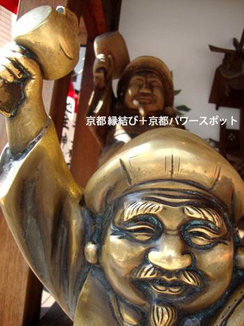 地主神社の撫で大国