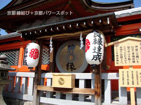 地主神社のドラ