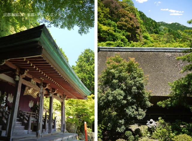 上醍醐の清滝宮本殿