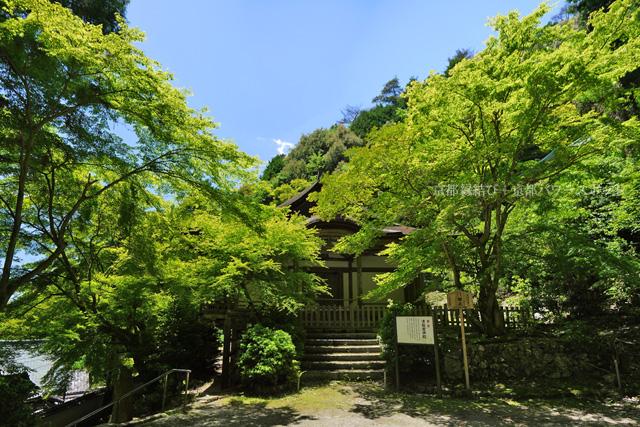 上醍醐の清瀧宮拝殿