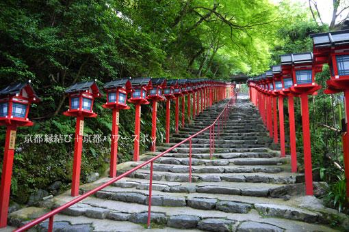 貴船神社石段