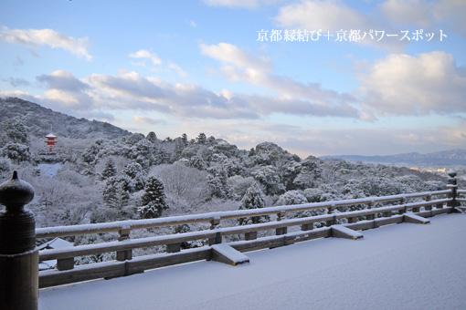 清水寺の冬
