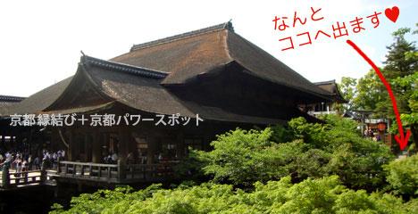 清水寺と地主神社