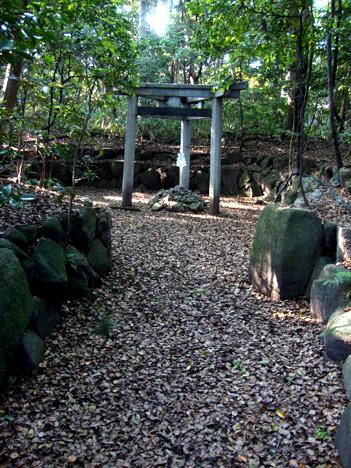 木嶋神社の鳥居