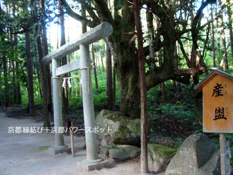 真名井神社の産盥