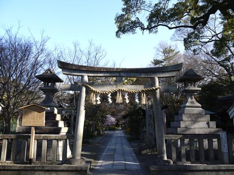 京都御苑の宗像神社