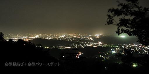 奥宮神社の夜景