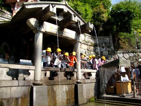 音羽の滝(清水寺)