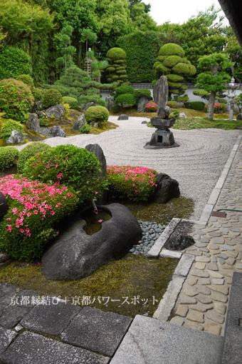 東福寺 霊雲院のサツキ