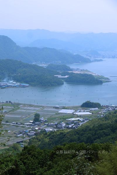 多禰寺の眺望