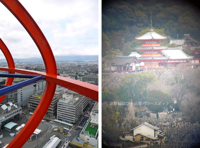 京都タワー 眺望