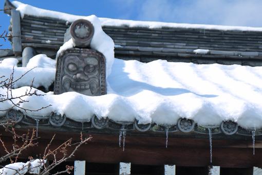 天龍寺弘源寺の雪景色