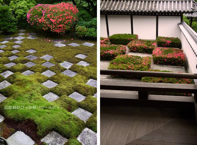 東福寺方丈のサツキ