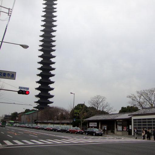東寺の七十五重塔