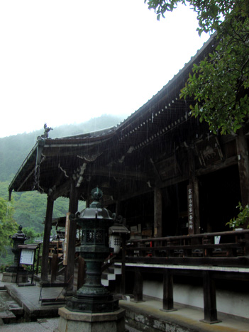 善峯寺の観音堂写真